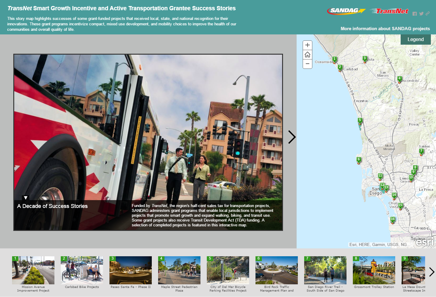 Smart Growth Story Map