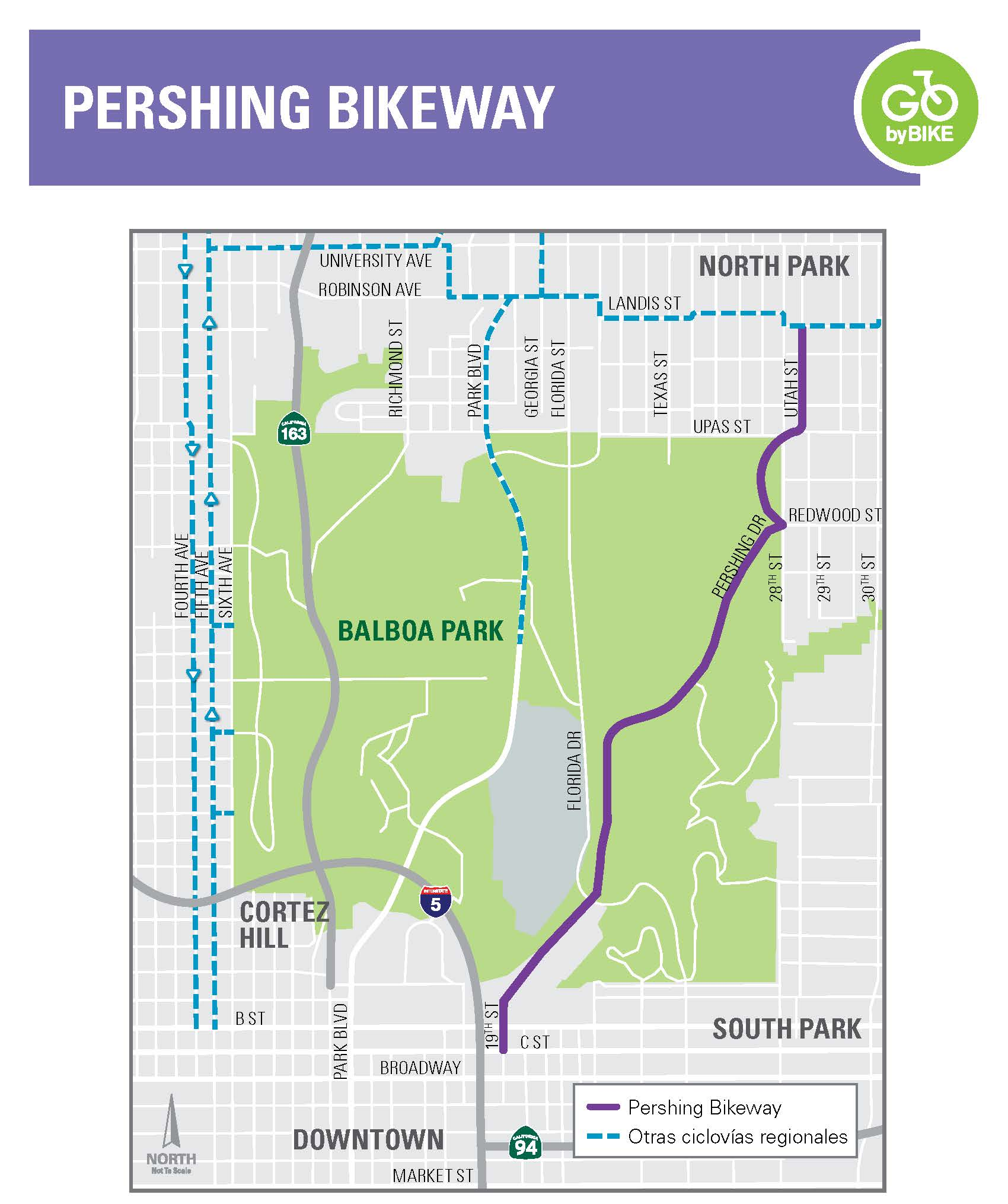 Bikeway Name – Project Timeline (Spanish)