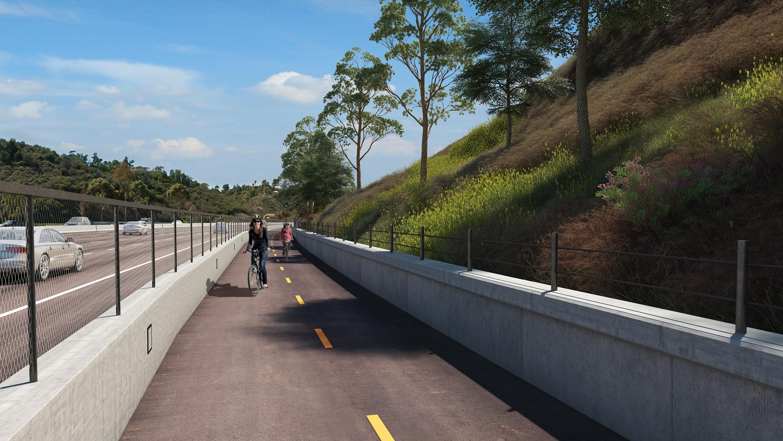 bikeway image