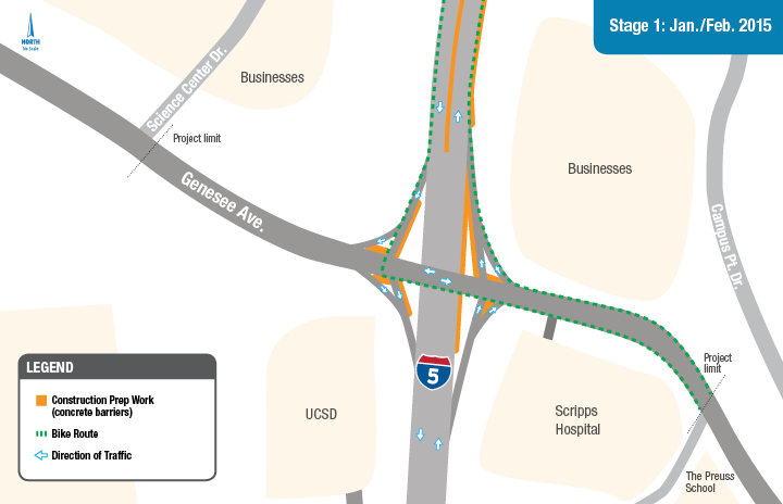 I5 Traffic Map.I 5 Genesee Construction Map Schedule Stage1