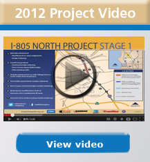 I-805 North 2012 Project Video