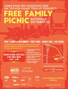October 22 Free Family Picnic