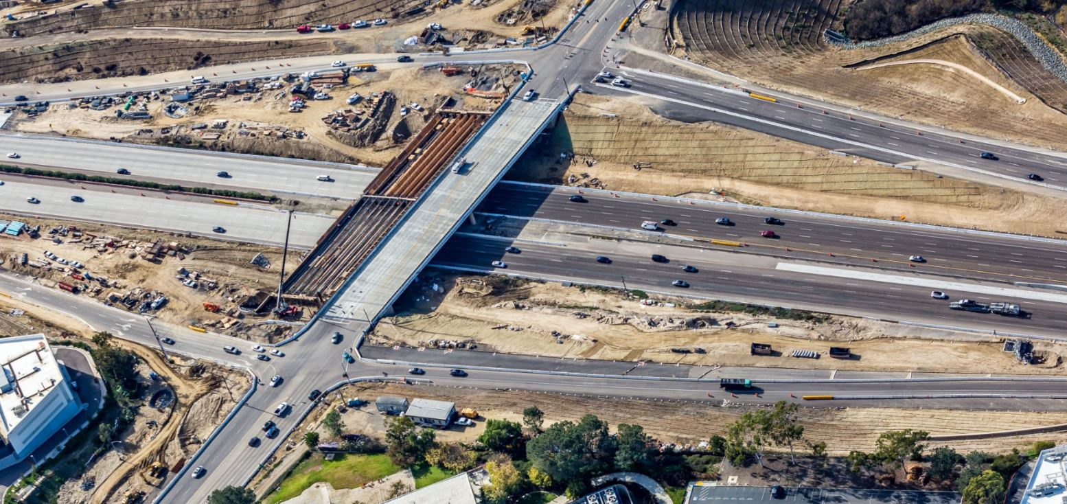 I-5/Genesee Overpass Progress
