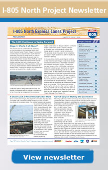 I-805 North Newsletter